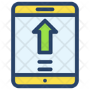 Mobile Businessman Project Icon