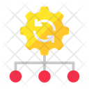 Management Update Structure Hierarchy Icon