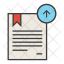 Upload Export Certificate Icon
