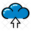 Weather Upload Cloud Icon