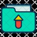 Upload File Transfer Icon