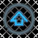Upload Update Circle Icon