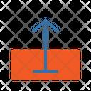 Upload Arrow Data Icon