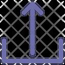 Upload Internet Interface Icon