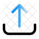 Upload Network Save Icon