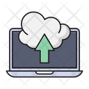 Upload Cloud Database Icon