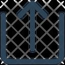 Arrow Share Up Icon