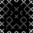 Upload Submit Arrow Icon