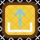 Upload Interface Design Icon