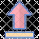 Upload Data Internet Icon