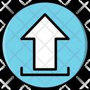 Upload Arrow File Icon