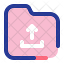Upload Folder Upload Up Icon