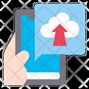 Upload App Smartphone Icon
