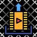 Upload Video Movie Icon