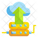 Upload Cloud Databases Icon
