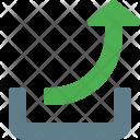 Upload Symbol Arrow Icon