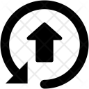 Upload Sign Arrow Icon