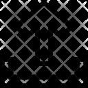 Arrow Export Guardar Icon
