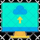 Upload Data From Web Upload Data Online Data Upload Icon