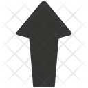 Arrow Upload Black Icon