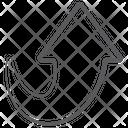 Upload Arrow Upward Arrow Direction Arrow Icon