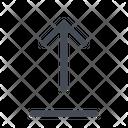 Upload Orientation Arrow Icon