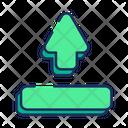 Upload Arrow Direction Icon