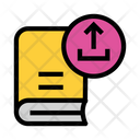 Upload Book Icon