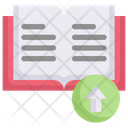 Upload Book Icon