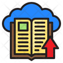 Learning Ebook Cloud Icon