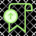 Upload Bookamark Icon
