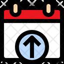 Upload Calendar Icon
