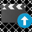 Clapper Upload Clip Icon