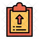 Upload Clipboard Icon