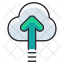 Upload Speed Cloud Icon