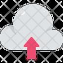Cloud Computing Send Upload Icon