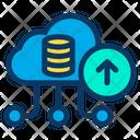 Upload Cloud Data Icon