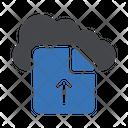 Upload Cloud File Icon