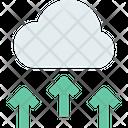 M Cloud Storage Upload Data Upload Cloud Data Icon