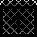 Upload Data Arrow Icon