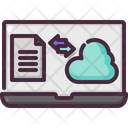 Cloud Storage Data Transfer Icon
