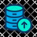 Upload Data Database Icon