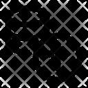 Database Upload Export Icon
