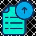 Upload Document File Icon