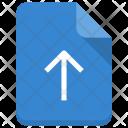 Upload File Sheet Icon
