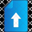File Arrow Up Icon