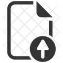 Upload File Document Icon