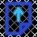 Upload Seo Business Icon