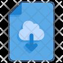 Upload File Up Arrow Cloud Icon