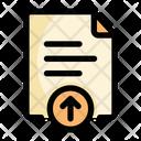 Upload File Education Icon